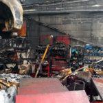 پایان غم انگیز نیسان های GT-R در آتش سوزی carera.ir 965 06656705