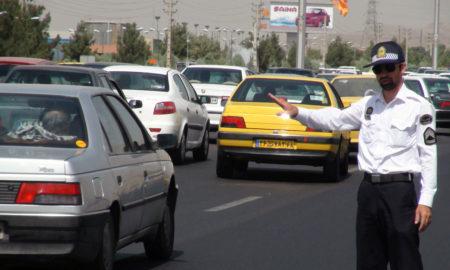 جریمه پلیس برای مخدوش کردن پلاک