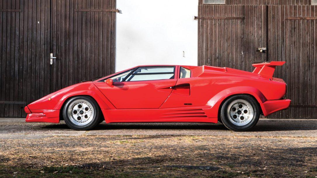 """آشنایی با 6 عضو خانواده """"سوپر ولوچه""""؛ لامبورگینی های خاص! carera.ir Lamborghini Countach 25th Anniversary"""