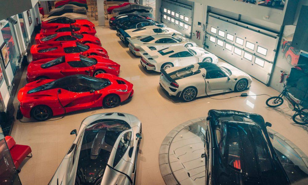 بزرگترین کلکسیون از ابر خودروهای جهان