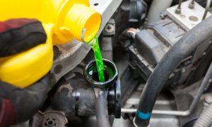 مایع خنک کننده خودرو و ضدیخ