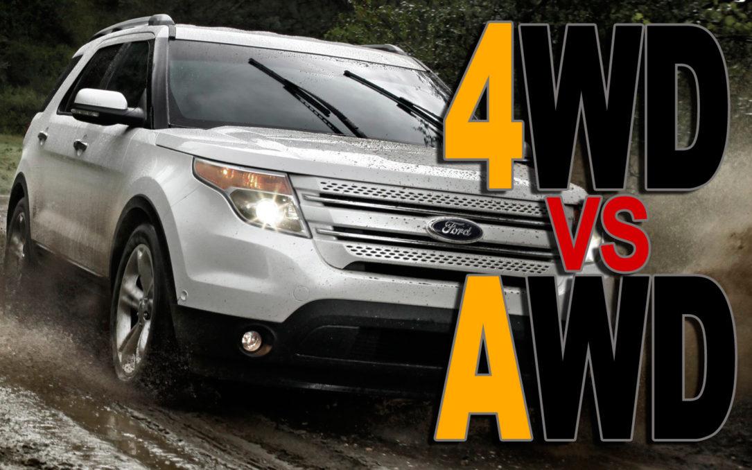 تفاوت AWD و 4WD