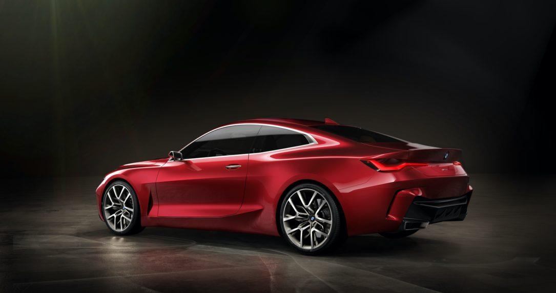 نمایشگاه فرانکفورت، طرح مفهومی BMW سری 4 معرف شد BMW Concept 4 Series 4