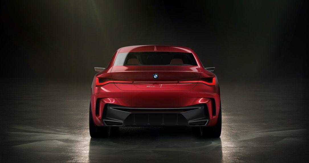نمایشگاه فرانکفورت، طرح مفهومی BMW سری 4 معرف شد BMW Concept 4 Series 5
