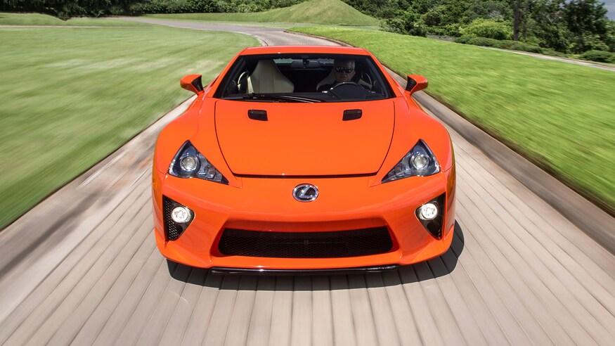 لکسوس LFA مدل 2012