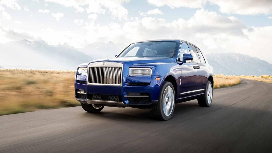 7 تا از لوکسترین و لاکچری ترین شاسی بلند های جهان 2019 Rolls Royce Cullinan 25