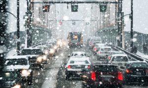 خودروی برقی در زمستان