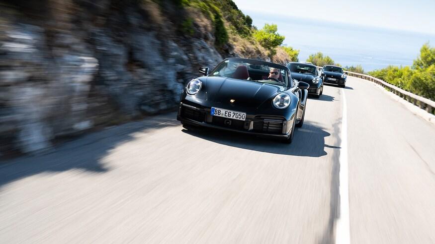10 خودروی خارقالعاده که ما را به آینده امیدوار میکند 19 2020 Porsche 911 Turbo S 6702