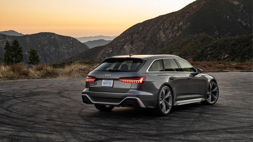 10 خودروی خارقالعاده که ما را به آینده امیدوار میکند 2021 Audi RS6 Avant 62 1