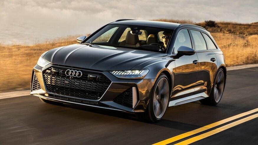 10 خودروی خارقالعاده که ما را به آینده امیدوار میکند 2021 Audi RS6 Avant 93