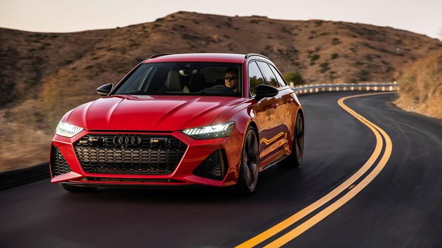 10 خودروی خارقالعاده که ما را به آینده امیدوار میکند 2021 Audi RS6 Avant