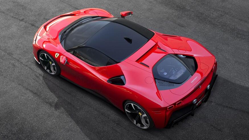 10 خودروی خارقالعاده که ما را به آینده امیدوار میکند Ferrari SF90 Stradale 01