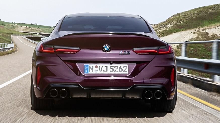 10 خودروی خارقالعاده که ما را به آینده امیدوار میکند The 2020 BMW M8 Gran Coupe Competition 91