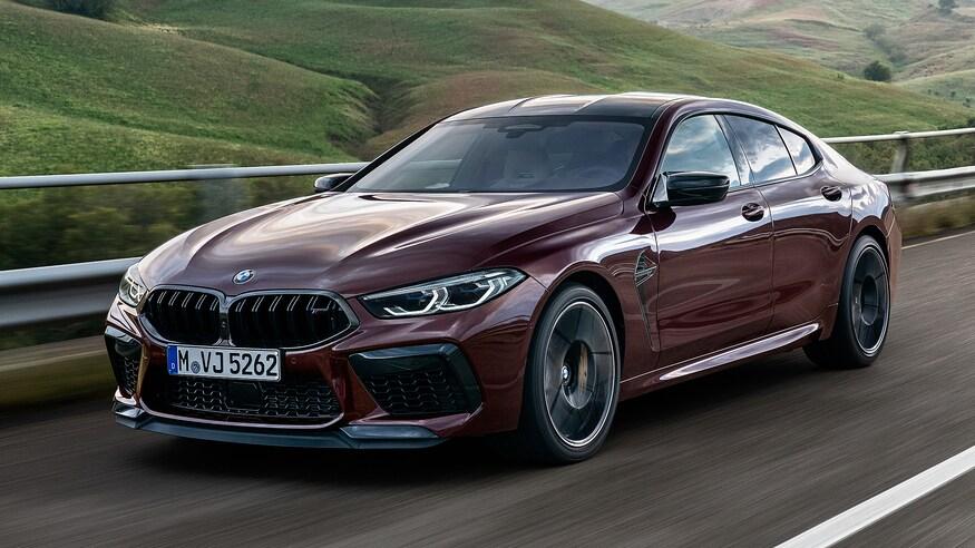 10 خودروی خارقالعاده که ما را به آینده امیدوار میکند The 2020 BMW M8 Gran Coupe Competition 93