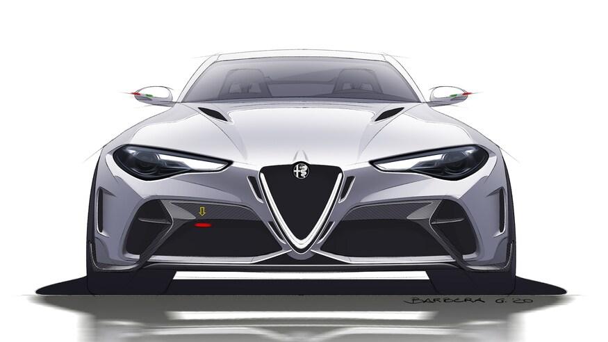 بهترین خودروهای نمایشگاه خودرو ژنو 2020 که برگزار نشد! 2021 Alfa Romeo Giulia GTA 27