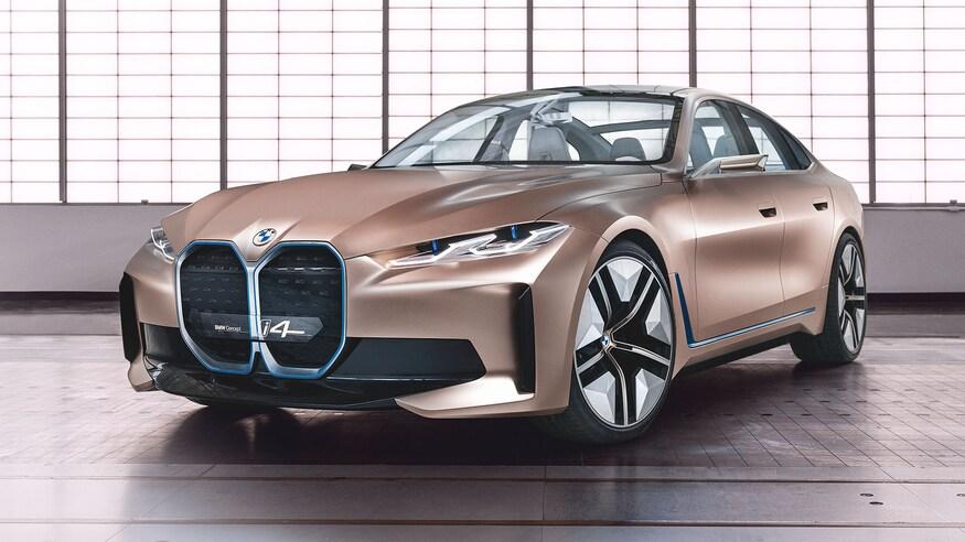 بهترین خودروهای نمایشگاه خودرو ژنو 2020 که برگزار نشد! BMW Concept i4 29