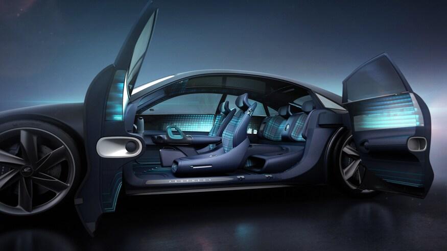 بهترین خودروهای نمایشگاه خودرو ژنو 2020 که برگزار نشد! Hyundai Prophecy EV Concept 28