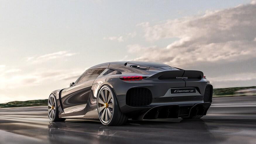 بهترین خودروهای نمایشگاه خودرو ژنو 2020 که برگزار نشد! Koenigsegg Gemera in motion 2