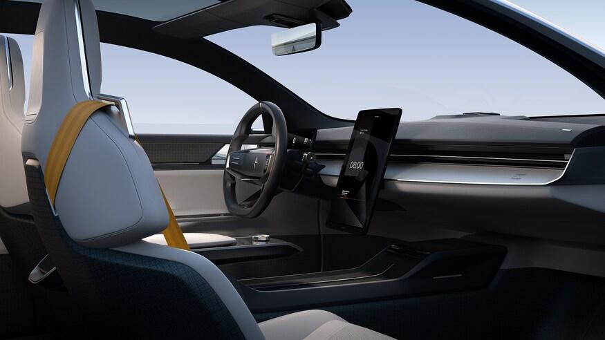 بهترین خودروهای نمایشگاه خودرو ژنو 2020 که برگزار نشد! Polestar Precept Interior Console