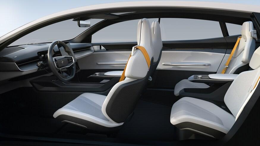 بهترین خودروهای نمایشگاه خودرو ژنو 2020 که برگزار نشد! Polestar Precept Interior Side