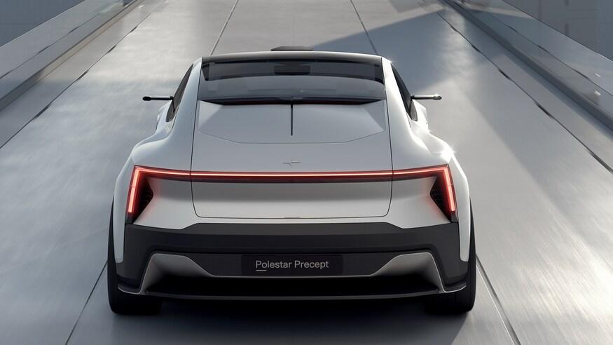 بهترین خودروهای نمایشگاه خودرو ژنو 2020 که برگزار نشد! Polestar Precept Rear