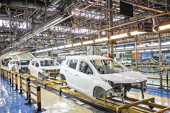 دخلوخرج خودروسازان در 98