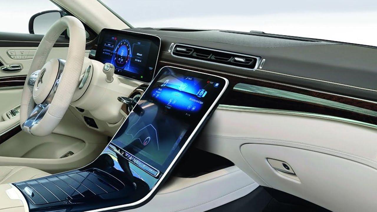 Mercedes Benz s class interior 2021 کابین مرسدس بنز کلاس اس