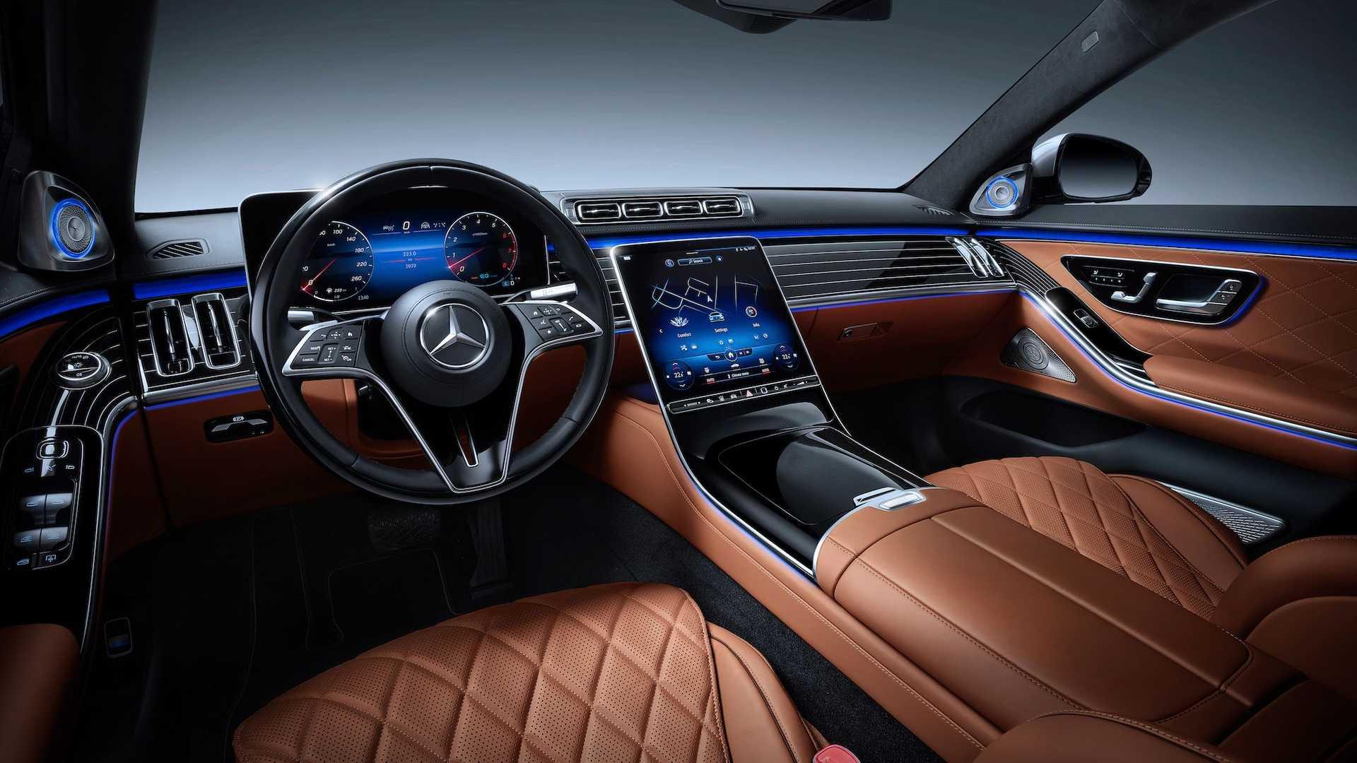 Mercedes S-Class مرسدس بنز کلاس S کابین